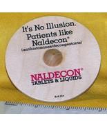 Whirligig spinning Top, Naldecon, custom imprint, Toycrafter 1989 - $4.75