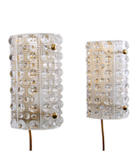 ORREFORS VENUS (pair), crystal sconces by LYFA/Orrefors, 1960s - $1,048.00