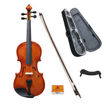 Paititi 4/4 Full Size VN002 Student Level Acoustic Violin with Case, Bow... - $79.99