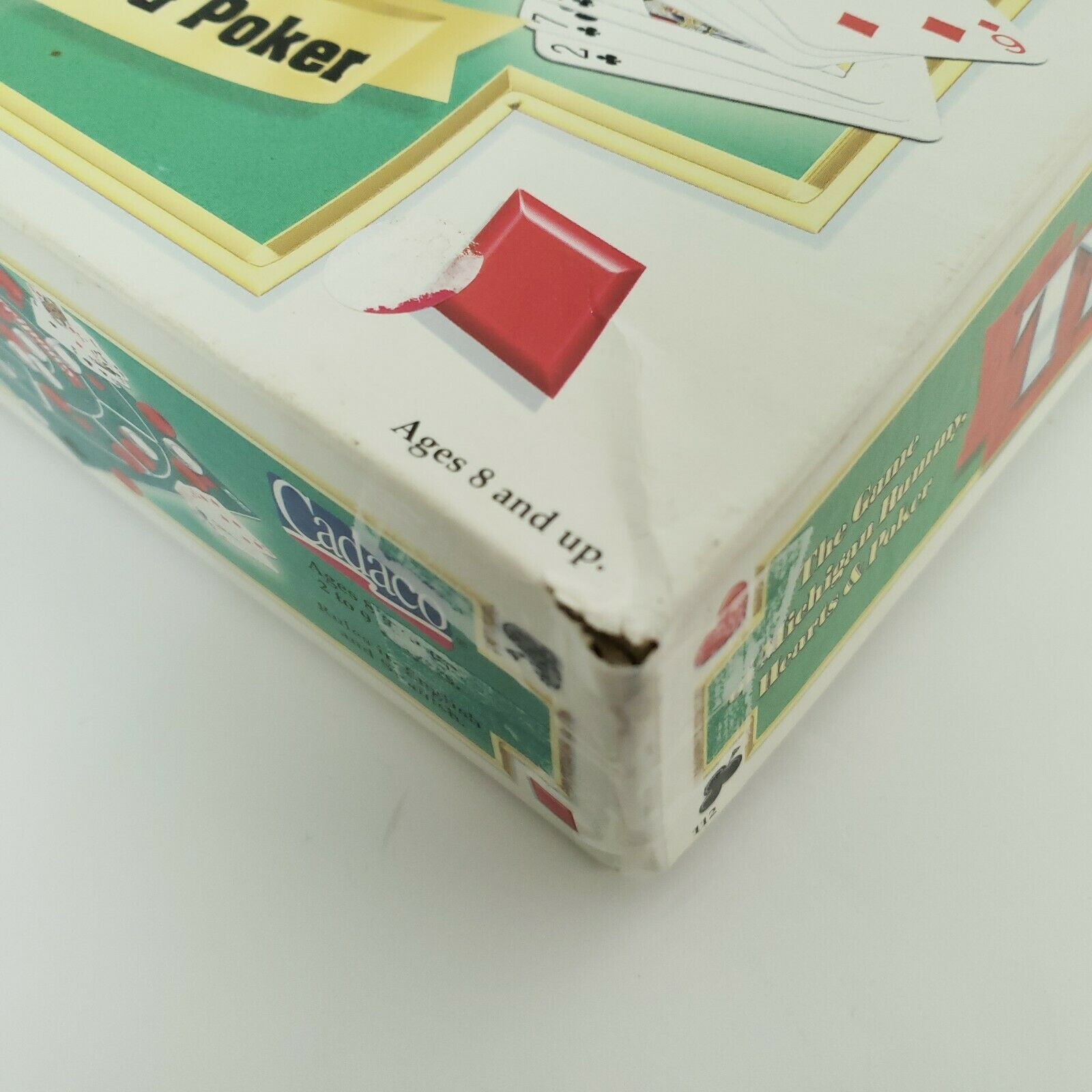 Tripoley Board Game Deluxe Mat Version Cadaco 2-9 Players Vintage 1999 Complete image 10