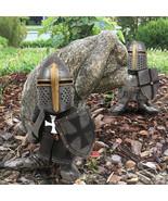 Knight Guards, Dwarf Miniature, Garden supplies, Figurines, Gnome for yard - $21.30