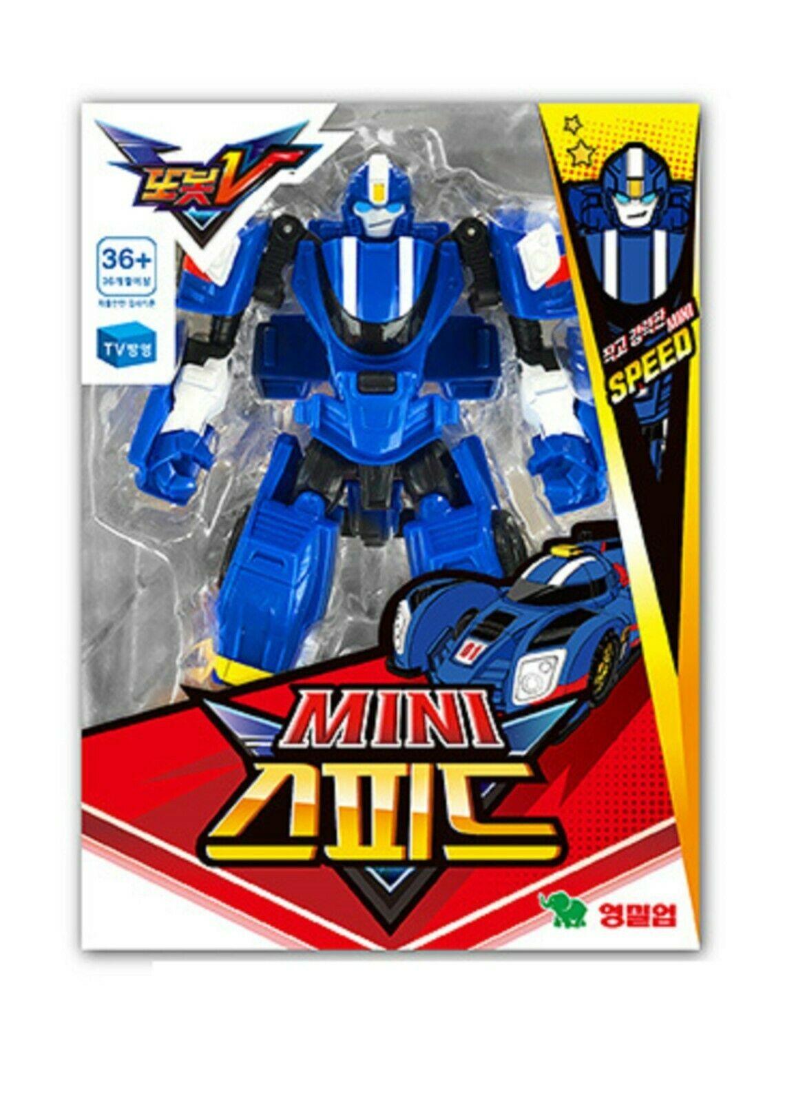 Tobot Mini Speed Toy Robot Transforming Transformation Action Figure Figurine