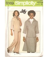 Misses Vintage 1977 Pants, Skirt, Top Sewing Pattern Size 14 Simplicity ... - $4.99