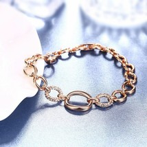 Women Elegant Simple Bracelet Titanium Steel European American Fashion J... - $32.29