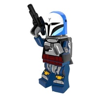 1 Pcs Star Wars Military Figure Coleman With Weapon Fit Lego Block Minif... - $6.99