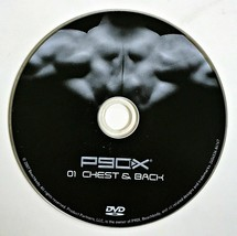 P90X Replacement DVD - 01 CHEST & BACK - Beachbody Extreme Home Fitness - $5.00