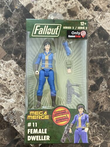 Primary image for Fallout Mega Merge Series 2 Female Dweller #11 GameStop Exclusive Vault-Tec 76