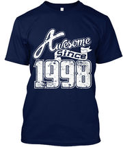 Awesome Since 1998 Cool T Hanes Tagless Tee T-Shirt - £17.45 GBP