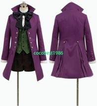 Black Butler II 2 Alois Trancy Cosplay Costume New Socks Bowknot Shorts ... - $70.13