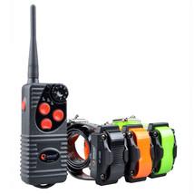 3- Dog  Remote Training Shock Collar No Bark Trainer Waterproof  Recharg... - $107.79