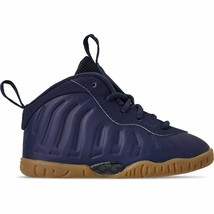 Kids' Toddler Nike Little Posite One Basketball Shoes Midnight Navy 7239... - $109.79