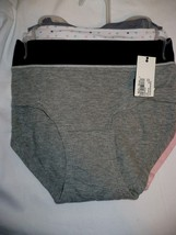 No Boundaries Women's Color Block Hipster Panties 3 Pack Size Large (7) ... - $10.68