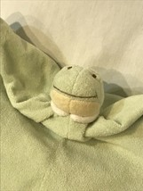 Angel Dear Green Dinosaur Security Blanket Baby Lovie Blankiet 13 x 13 S... - $21.62