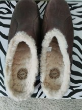UGG Australia Black Langford Sheepskin Lined Walking Mules Shoes, US 8.5, 5744 - $64.34