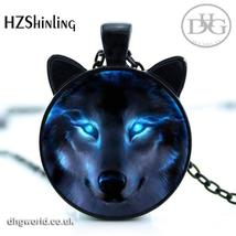 HZSHINLING Unisex Pendant / Necklace with Nordic Wolf Photo - $6.99