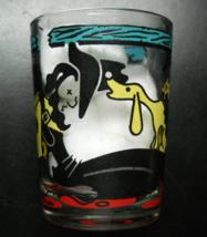 Hazel Atlas Shot Glass Colorful Hillbillies and Moonshine Wrap Clear Glass - $11.99