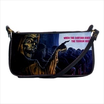Shoulder clutch bag purse creepshow horror skeleton - $24.00
