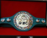 Details about  WBC Boxing Champion Ship Belt .Adult size without case - $2.279,42 MXN