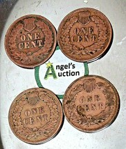Indian Head Penny 1903, 1905, 1906 and 1907 AA20-CNP2153 Antique image 2