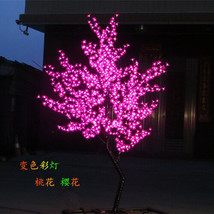 6 ft height LED Cherry Blossom Tree Wedding Garden Holiday Christmas Light Pink  - $455.00