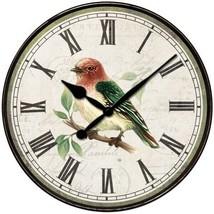Westclox 32897BS 12-Inch Bird Wall Clock - $27.45