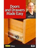 Doors and Drawers Made Easy With Jeff Mertz [DVD] - $17.99