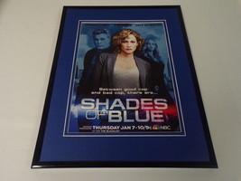 Shades of Blue 2016 NBC Framed 11x14 ORIGINAL Advertisement Jennifer Lopez - $32.36