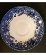"Churchill ""Currier and Ives"" Harvest China Saucer - Made in England - $4.89"
