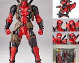 High Quality - Revoltech Deadpool Series No.001 Toy Action Figure Model Gift