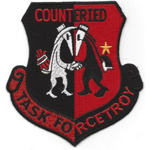 """US Army Task Force Troy Counter Improvised Explosive Device Patch 4"""""""" by 4'' - $13.85"""