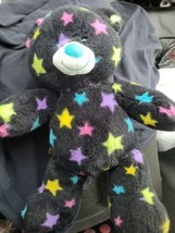 "Build-a-Bear Black Star Bear 15"" 1051928 RETIRED No Sound - $16.83"