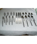 Vintage Gorham? G stamp Ultima Japan 20pc, 4 Place settings, Stainless s... - $49.99