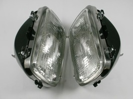 Pair Sealed Beam Headlights With Buckets Chevy Gmc Pickup C1500 K1500 C/K Truck - $85.75