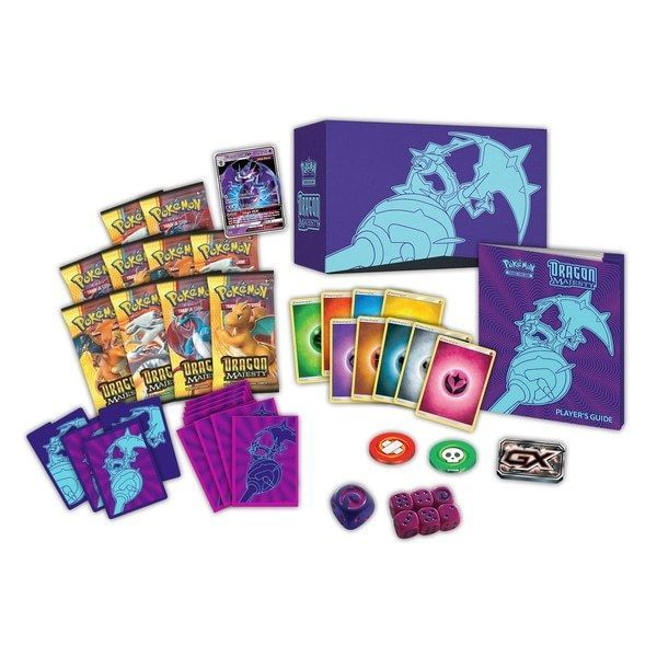 Dragon Majesty Super Premium Collection Box + Elite Trainer Pokemon TCG image 3