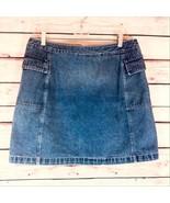 Tapemeasure Blue Jean Denim Ladies Women's Skirt Size 12 Petite - $20.00