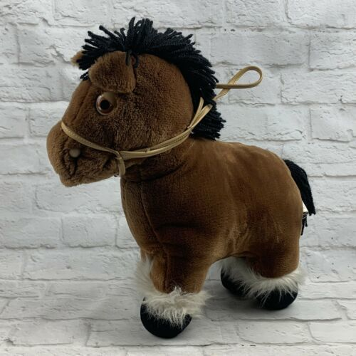 "Primary image for VTG 1984 Brown Cabbage Patch Kids Show Pony Plush 15"" No Saddle"