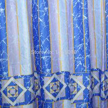 WIDEN Polyester Terylene Crack Waterproof Thicken Shower Curtains Bathroom Showe image 4