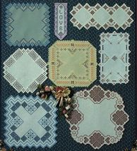 Tribute to Hardanger Embroidery Bellpull Round Square Doily Runner Patterns - $16.99