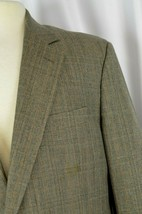 Brooks Brothers Men's Suit Size 44 Wool USA Window Pane Italy Career Ple... - $173.24