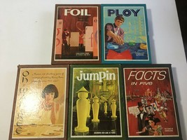 3M Game Lot 1962 Foil Ploy Jumpin Oh Wan Ree Facts in Five All Complete - $30.00