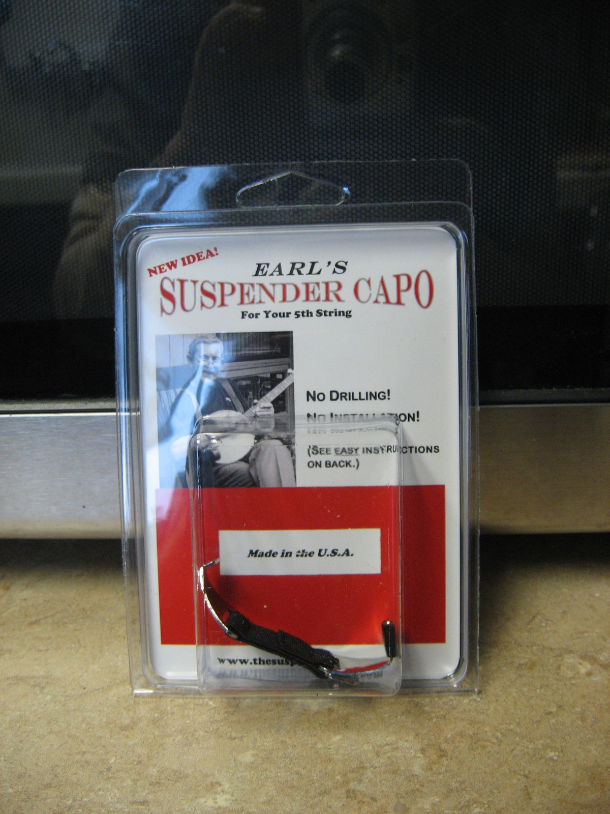 Primary image for Earl's Suspender 5th String Banjo Capo/New!