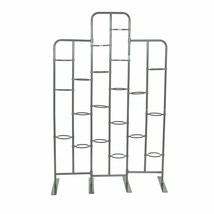 Tall Metal Plant Planter Stand 20 Tiers Display Plants Indoor or Outdoor... - $101.99