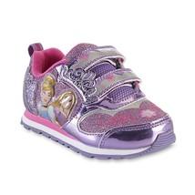Disney Princess Shoes Sneakers Size 6 7 11 12 Glitter Rapunzel Light up - $22.99