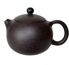 Yixing Teapot 7oz Chinese Xishi Tea Pots Genuine Black Sand Heijingan - $42.81