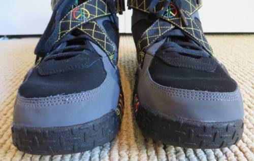official photos 52d9e dafd0 Nike Air Raid Urban Jungle Peace Shoes Gray Men s Size 11 Excellent  Condition