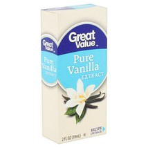 (2 pack) Great Value Pure Vanilla Extract, 2 fl oz - $1.88