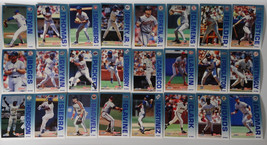 1992 Fleer Performer Collection 7-11 Citgo Set of 24 Baseball Cards - $4.50