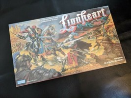 Lionheart Medeival Warfare Board Game Strategy Risk Parker Brothers 1997... - $37.39