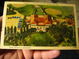 Vintage Golf Postcard Mohawk Valley Country Herkimer NY image 1