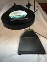 Industrial Vintage Adjustable Magnifying Desk Lamp Magnifier Light Magnify image 4